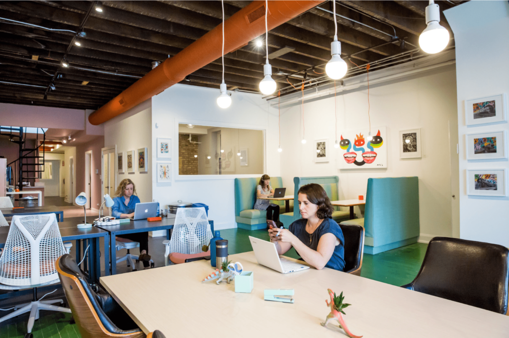 ampersand coworking space in chicago