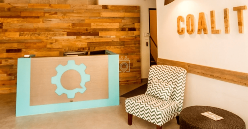 coalition space coworking space in chicago