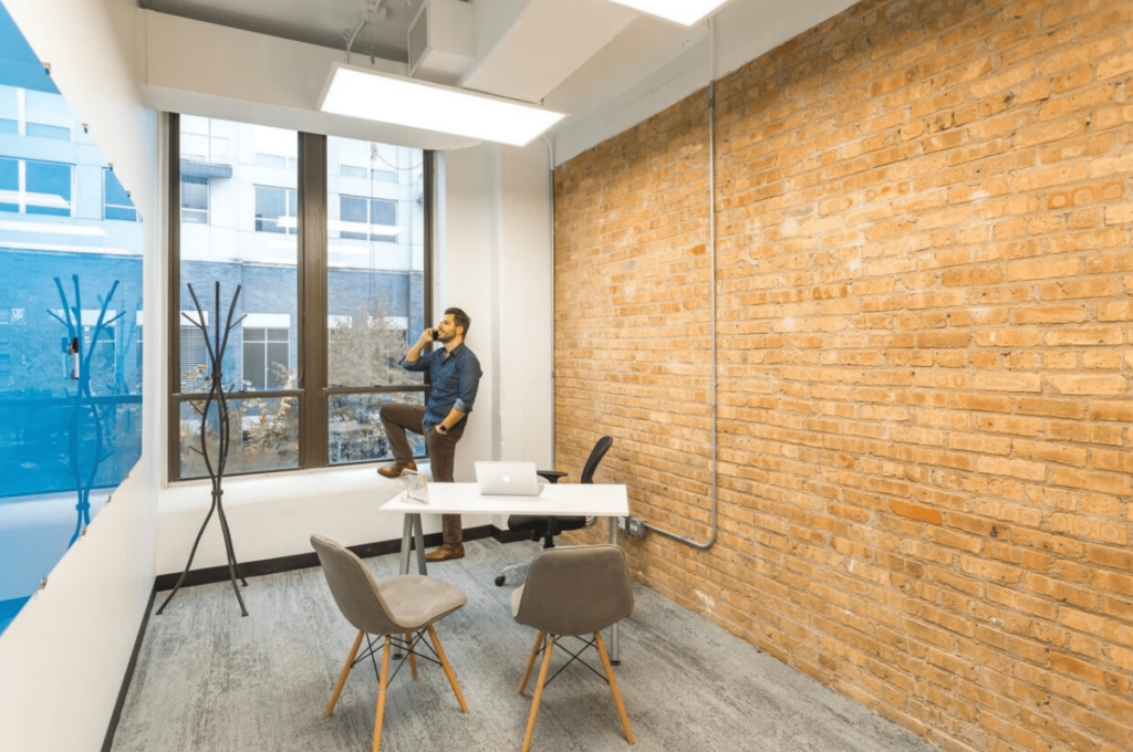 expansive workspace coworking space in chicago
