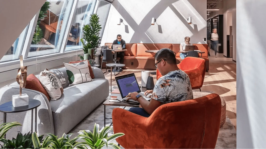 industrious coworking space in chicago