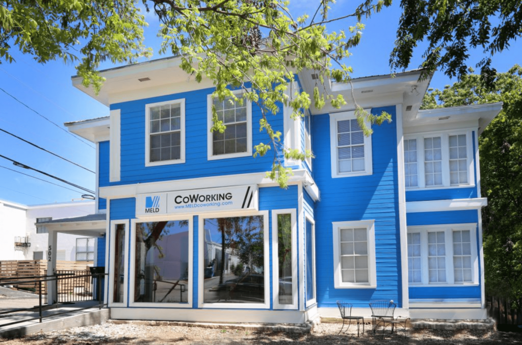 meld coworking spaces in austin