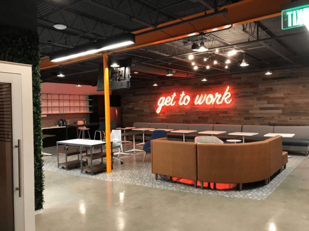 the local office coworking spaces in houston