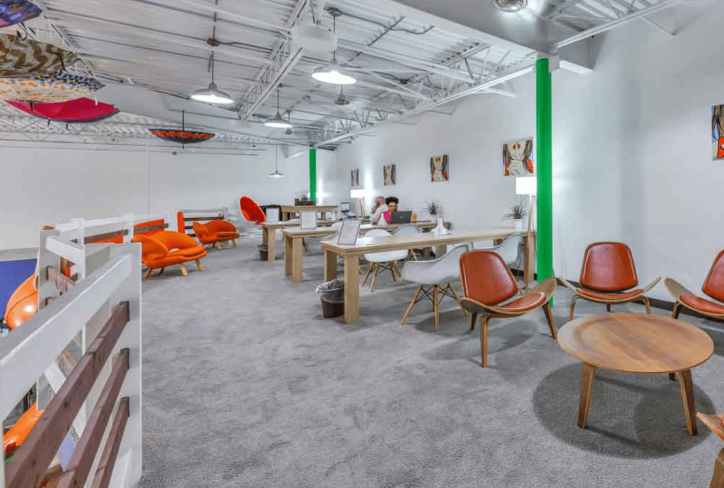 the work lodge coworking spaces in houston