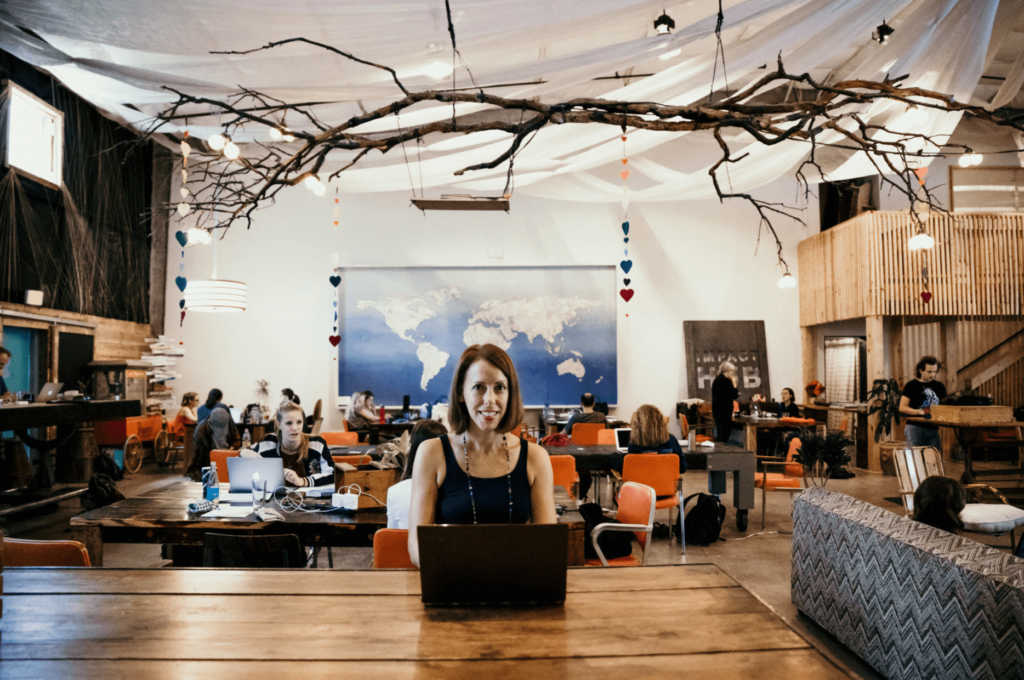 vuka impact coworking space in Austin