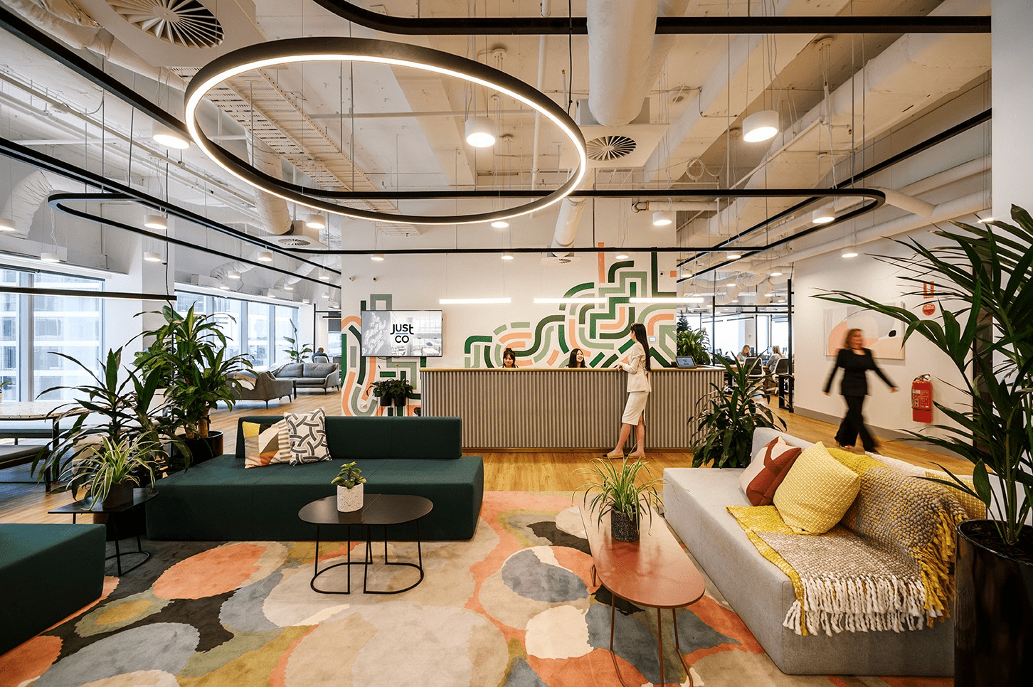 justco coworking space melbourne